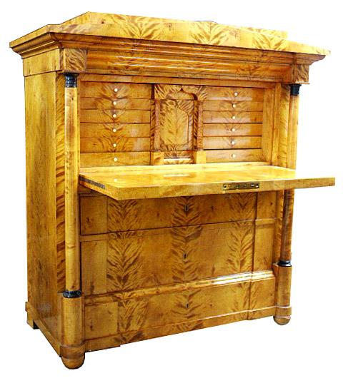Rare Antique Biedermeier Style Desk For Sale Classifieds