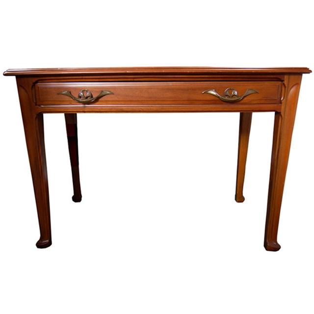 Small Art Nouveau Desk Attr Louis Majorelle For Sale