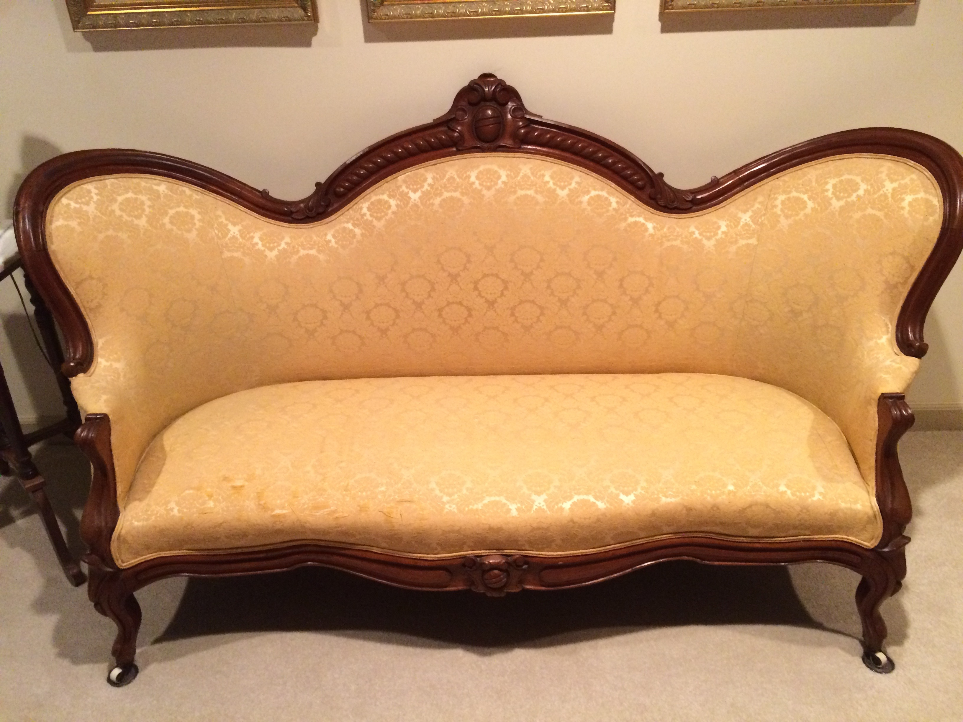 Antique sofa arm chair and nursing chair for sale for Couches and sofas for sale
