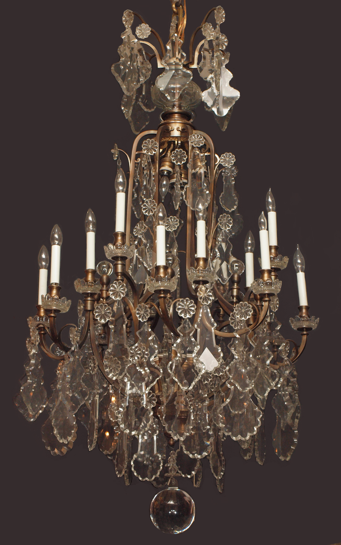 Antique french baccarat crystal chandelier chc9 for sale classifieds - Chandeliers on sale online ...