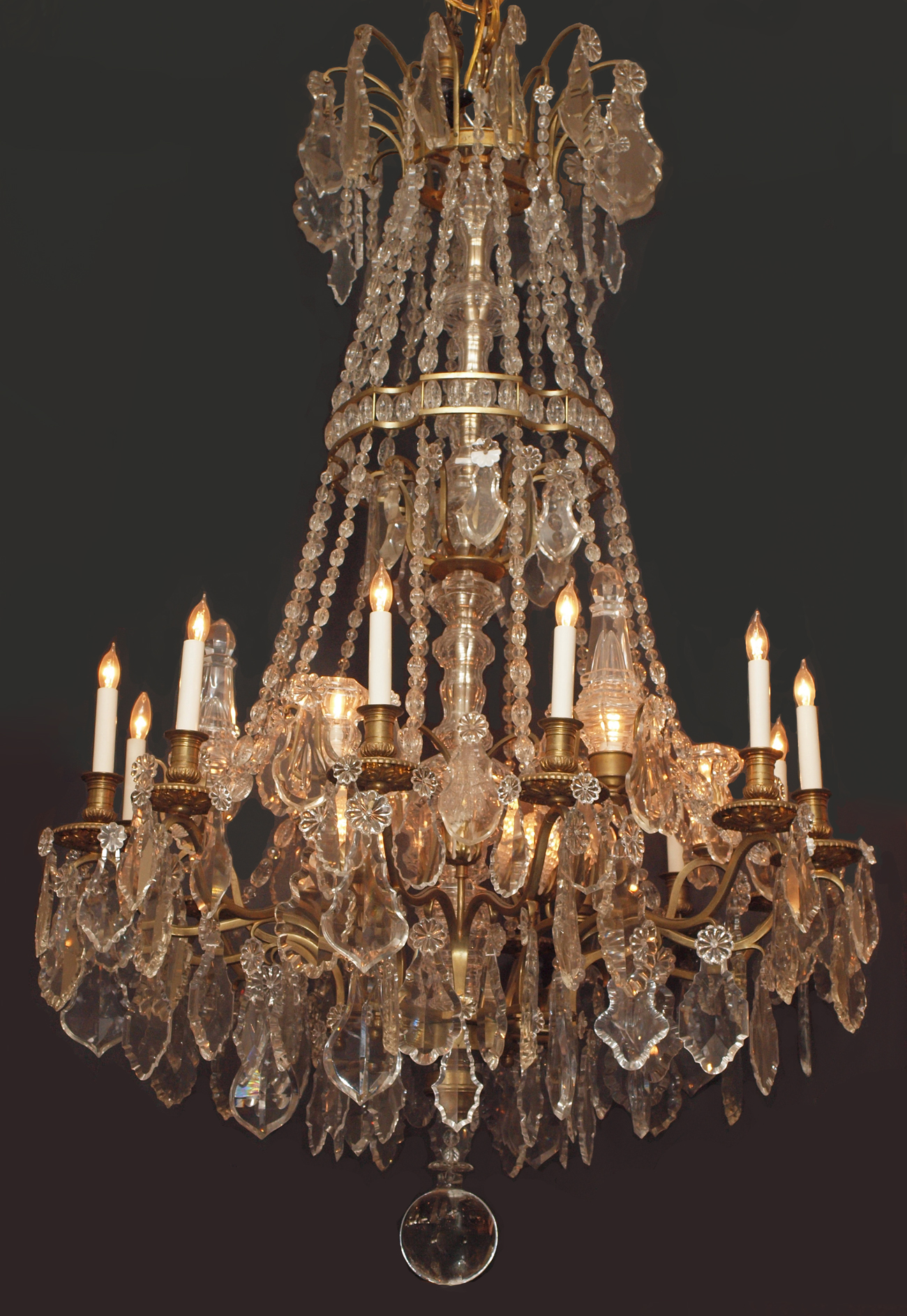 Antique french louis xvi baccarat crystal chandelier chc118 for sale classifieds - Chandelier for sale ...