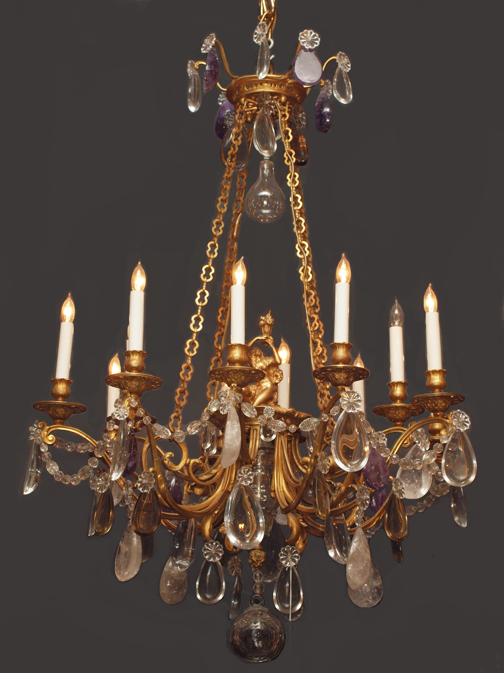 Antique French Baccarat Crystal Chandelier CHC22 For