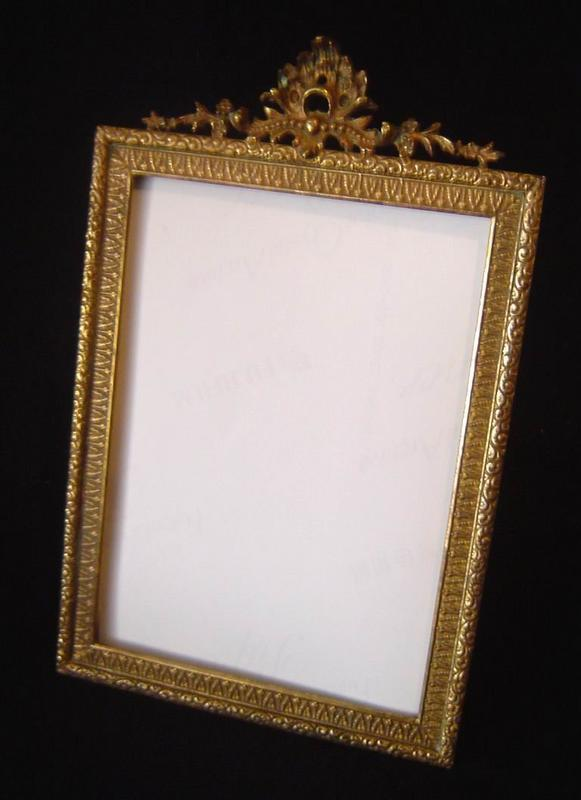 antique brass frame for sale classifieds. Black Bedroom Furniture Sets. Home Design Ideas