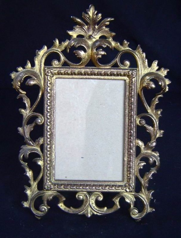 Antique Large Brass Frame For Sale | Antiques.com | Classifieds