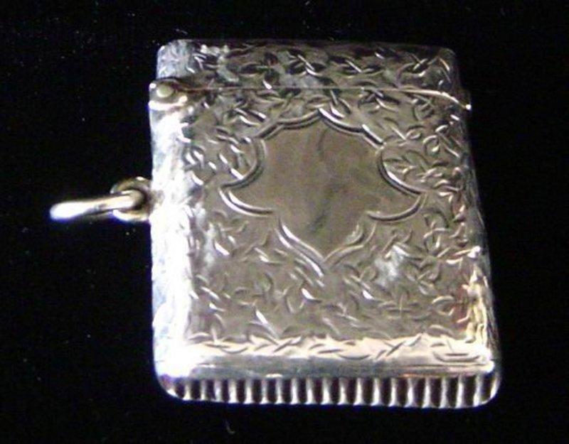 Price Match App >> Antique Sterling Silver Match Safe For Sale | Antiques.com ...