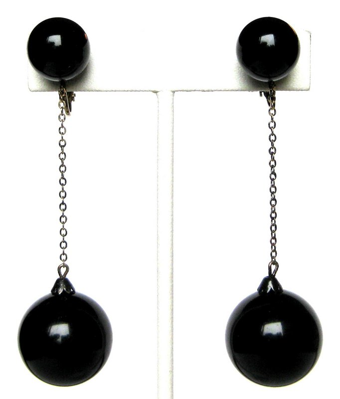 Sterling Silver Black Double Ball w/ Plastic Pearl & Crystal Ear Jacket Earring Shop Best Sellers· Deals of the Day· Fast Shipping· Read Ratings & Reviews2,,+ followers on Twitter.