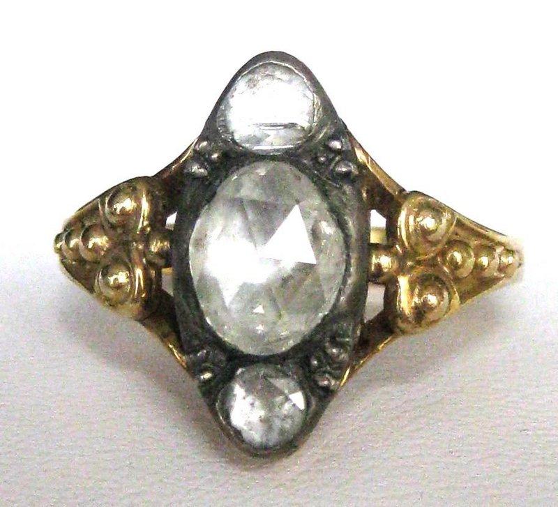 Georgian Rose Diamond Ring For Sale Antiques