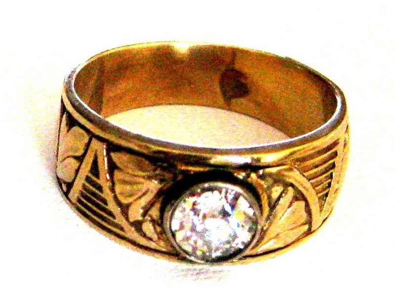 Antique Russian Diamond Ring For Sale Antiquescom Classifieds