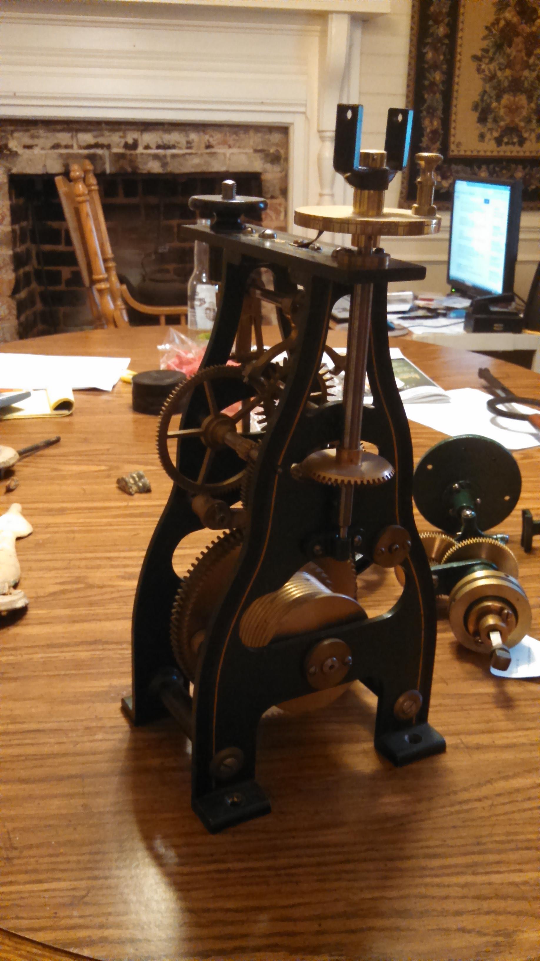 Antique Howard Tower Clock For Sale Antiques Com