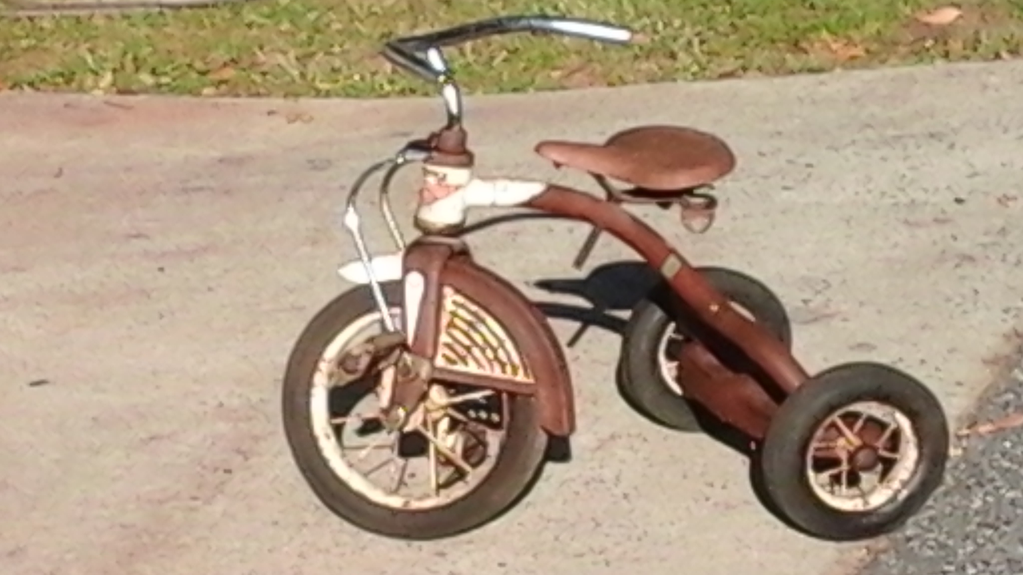Vintage Tricycle Wheels : Vintage metal amf junior tricycle for sale antiques