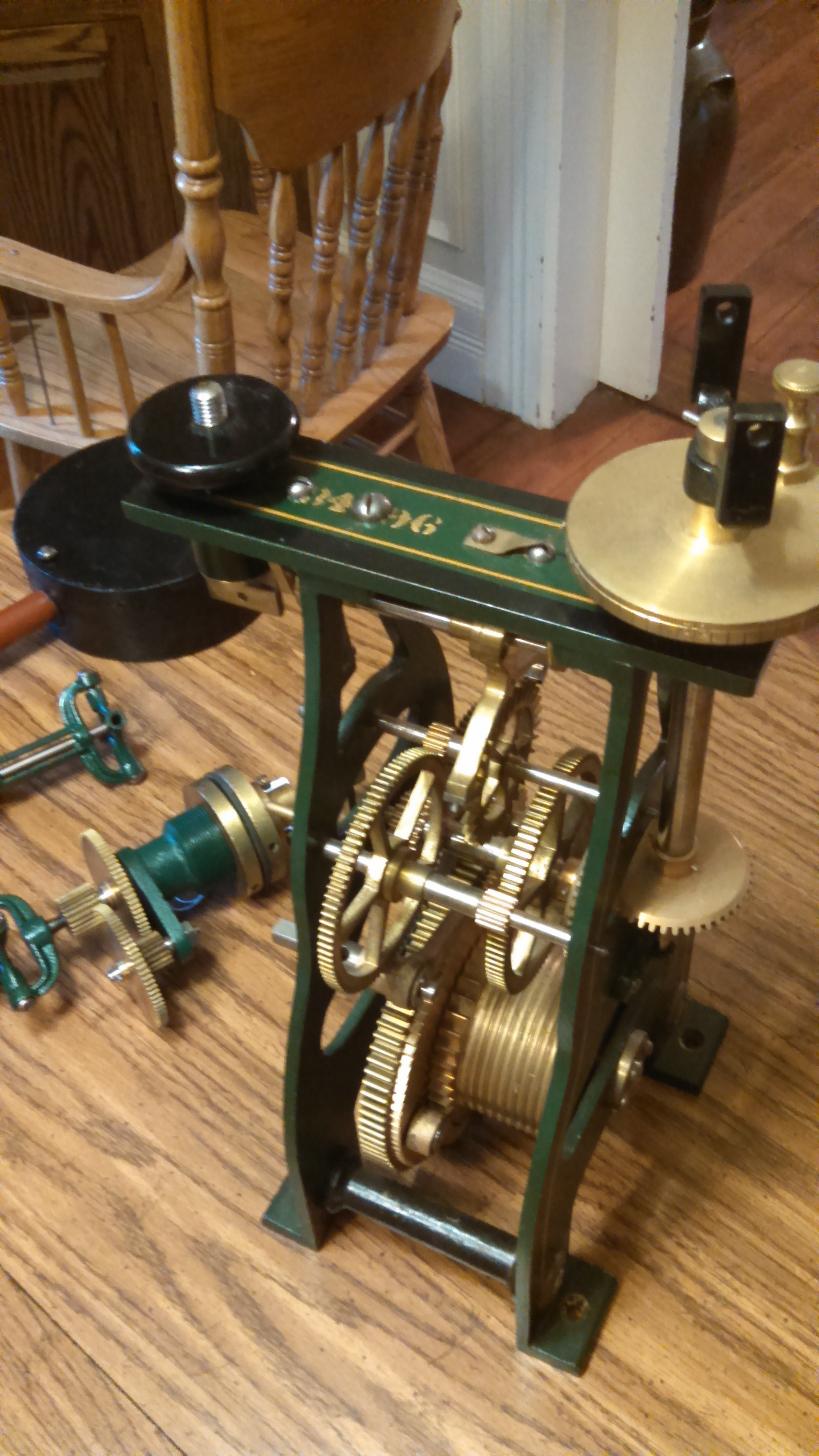 Antique Howard Tower Clock For Sale | Antiques com | Classifieds