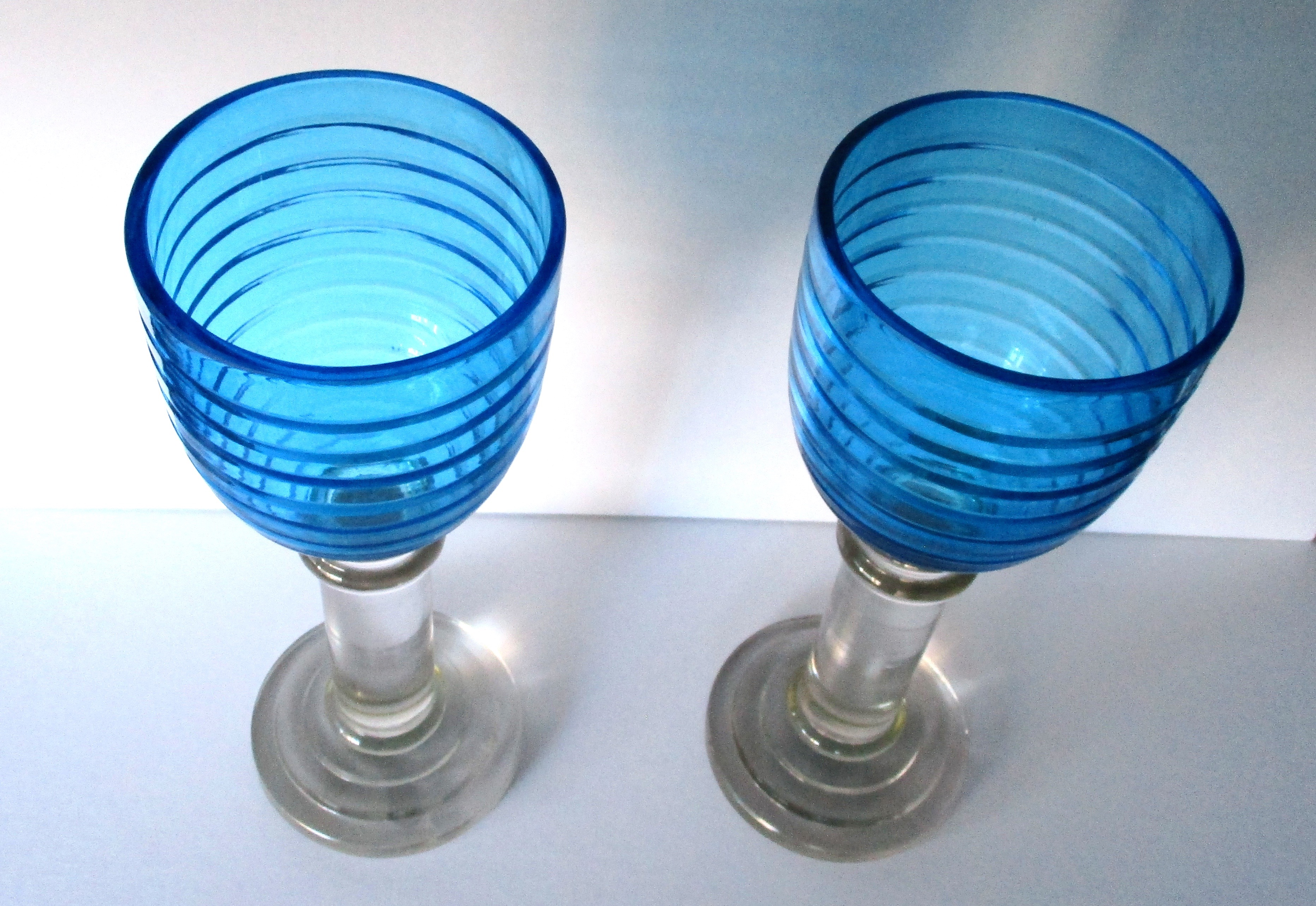 pair of large glass hurricane lamps for sale. Black Bedroom Furniture Sets. Home Design Ideas