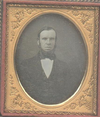 1850s   daguerreotype of man