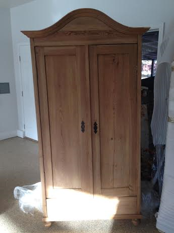 early 1900s english pine armoire for sale antiquescom classifieds antique english pine armoire