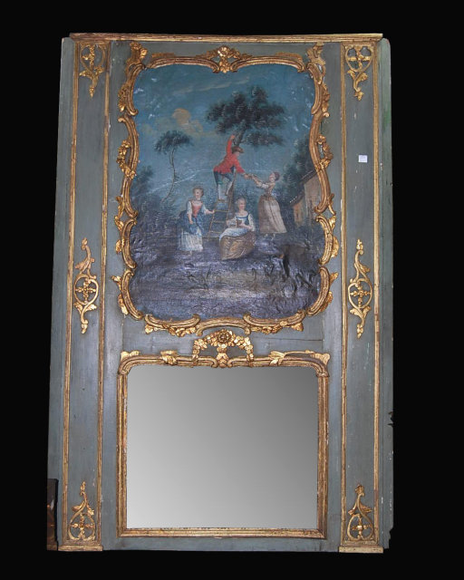 18th century french trumeau mirror for sale classifieds. Black Bedroom Furniture Sets. Home Design Ideas