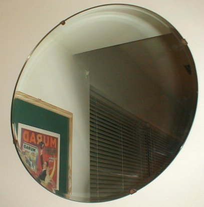 Small round art deco wall mirror g123 for sale for Small wall mirrors for sale