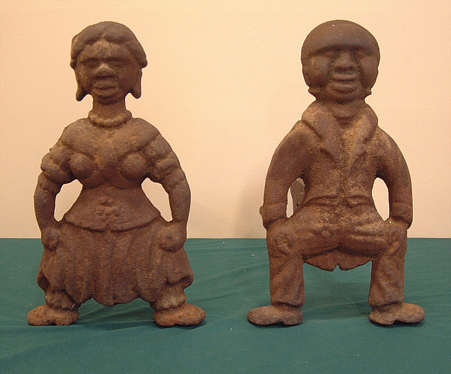 american cast iron black folk