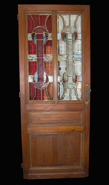 French Stained Glass Door For Sale Antiques Classifieds