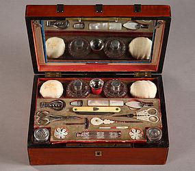Charles x sewing casket coffret et son n cessaire c for Necessaire a couture en or
