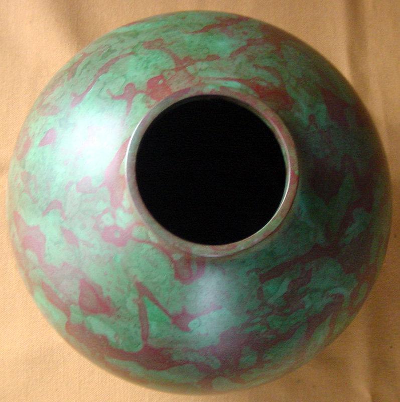 Vintage Japanese Art Deco Bronze Vase C1938 For Sale Antiques
