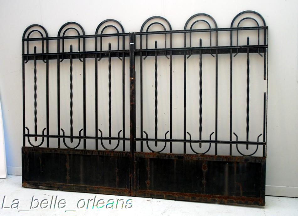 ARTS CAST FENCE GATE IRON » Fencing