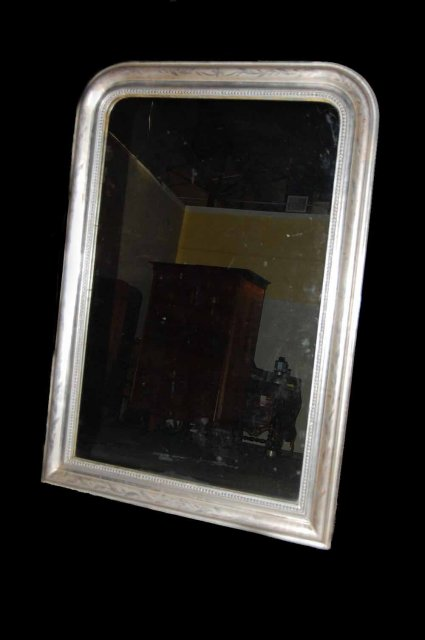 French silver louis phillipe mirror for sale antiques for Silver mirrors for sale