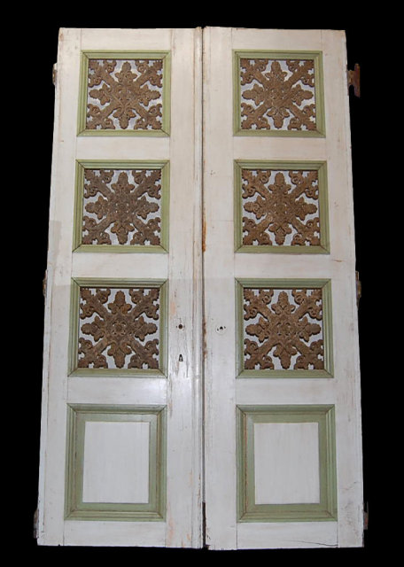 Pair of 19th Century French Doors - For Sale - Pair Of 19th Century French Doors For Sale Antiques.com
