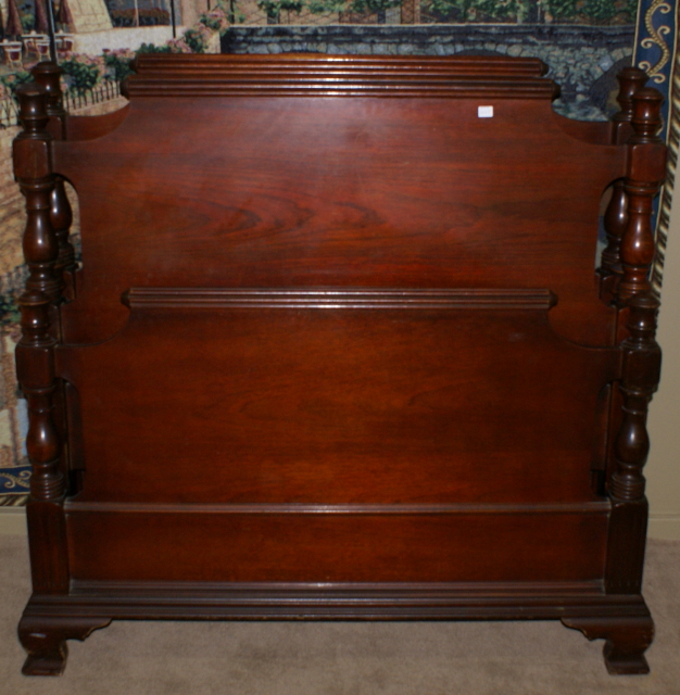 pair of mahogany twin beds for sale classifieds. Black Bedroom Furniture Sets. Home Design Ideas