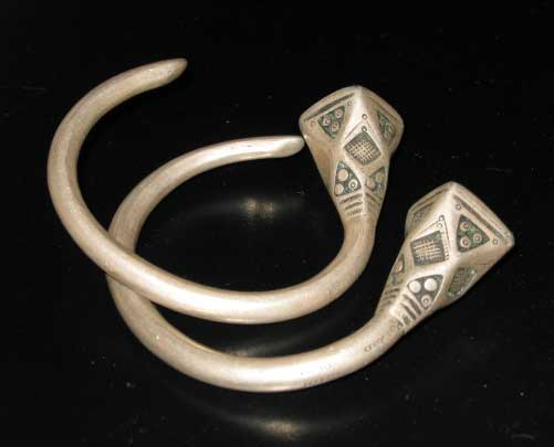 a pair of islamic bracelets