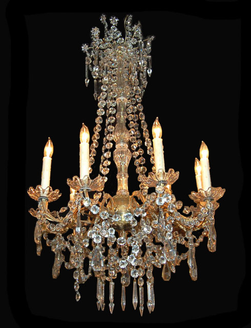 Elegant french crystal chandelier for sale classifieds - Chandelier for sale ...