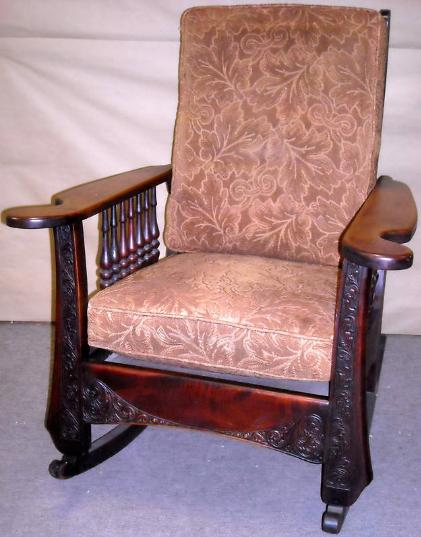 Mission Style Oak Rocking Chair Plans House Design And