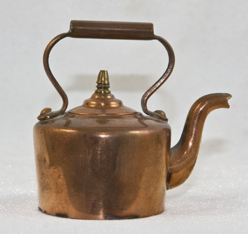 how to clean my copper tea kettle