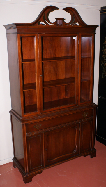 Nice Mahogany China Cabinet For Sale Antiques Com