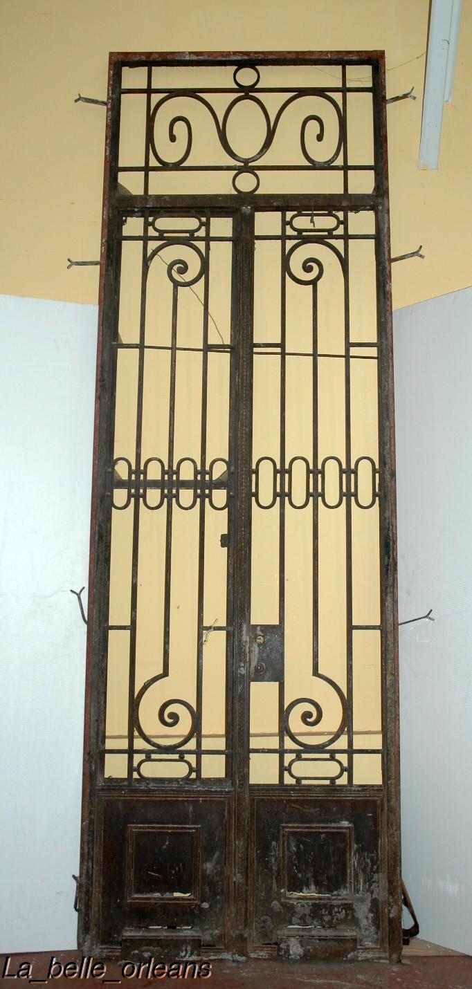 Classifieds antiques antique garden for Wrought iron doors