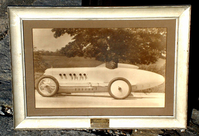 Vintage Race Car and Driver circa 1910 Photograph : Item # 3677 For