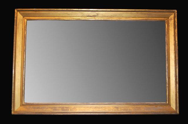 19th Century Napoleon Iii Horizontal Mirror For Sale