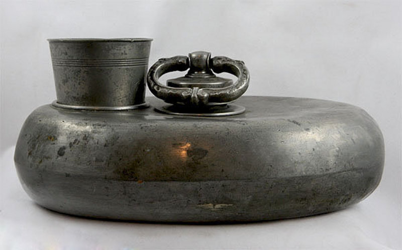 Pewter Bed Warmer For Sale Antiques Com Classifieds