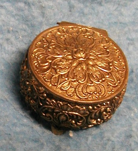 Jewelry box small round b2423 for sale for Vintage antique jewelry box
