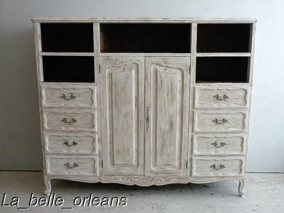 shaby chic country entertainment center cabinet for sale antiques classifieds