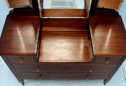 Antique Dressing Table Vanity English Victorian Mahogany For Sale Antiques Com Classifieds