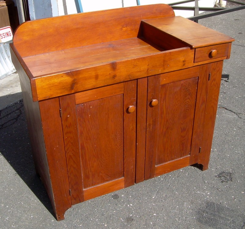 beautiful Antique Dry Sink For Sale Part - 1: Antique pine dry sink