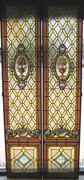 19th century french pair stained glass leaded windows c1880 for exceptional pair of 19th century french stained leaded glass windows circa 1880 measures88h x 185w examine the pictures thoroughly for the brilliant planetlyrics Gallery