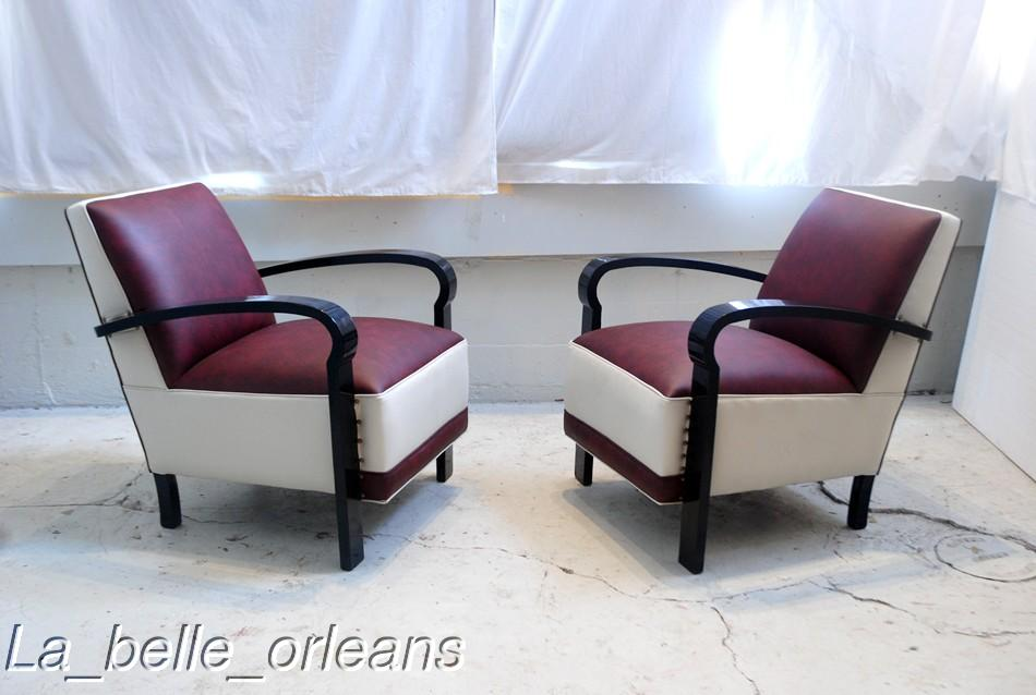 Cool pair of mid century modern retro club armchairs for for Cool armchairs