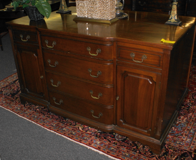 signed georgetown galleries solid mahogany buffet for sale