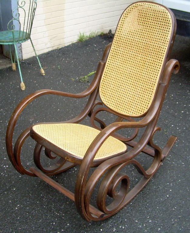 thonet style rocking chair for sale classifieds. Black Bedroom Furniture Sets. Home Design Ideas