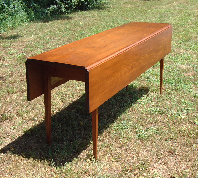 Kitchen Table For Sale: Antique American Pine Harvest Kitchen Table : Item # 4641