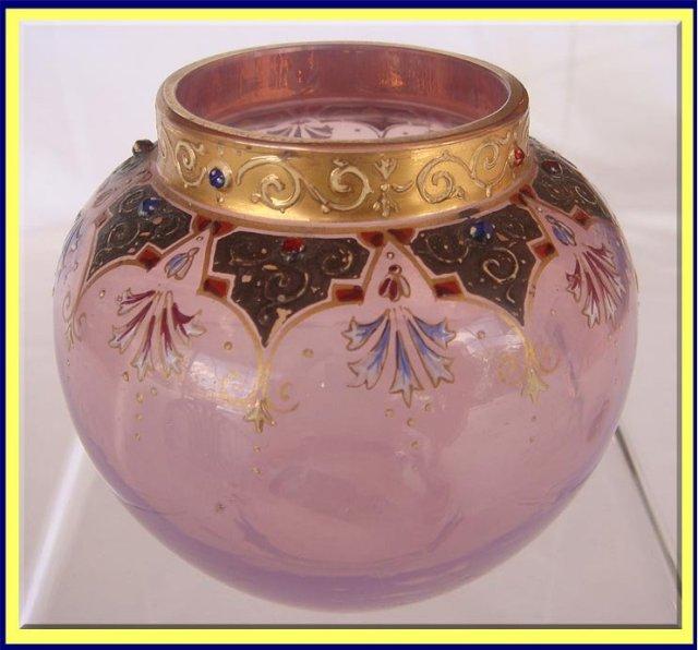 Opaline Glass Vase - c. 1900's, European #1313011