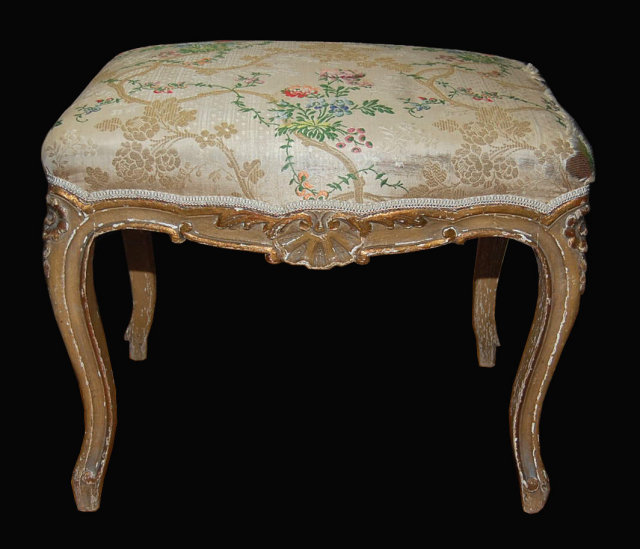 French Louis Xv Foot Stool For Sale Antiques Com