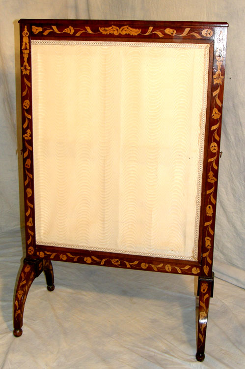 Marquetry And Walnut Firescreen For Sale Classifieds