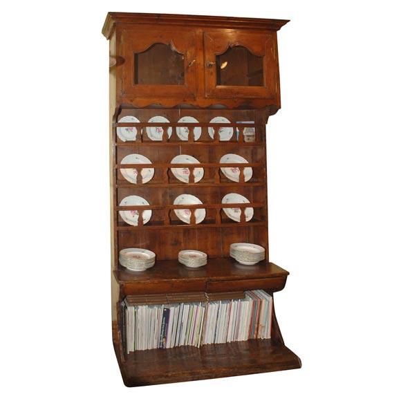 18th century pine vaisselier for sale. Black Bedroom Furniture Sets. Home Design Ideas